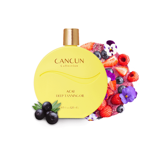 Cancun Collection Acai Deep Tanning Oil
