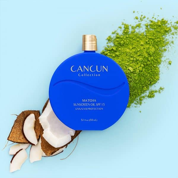 Cancun Collection Matcha Sunscreen Oil SPF15