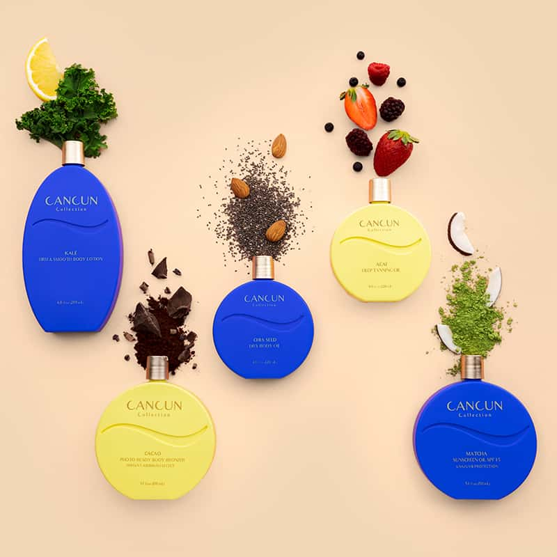 Cancun Collection Superfood Skincare & Sun care